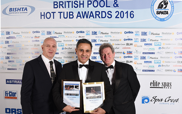 British Pool & Hot Tub Awards 2016