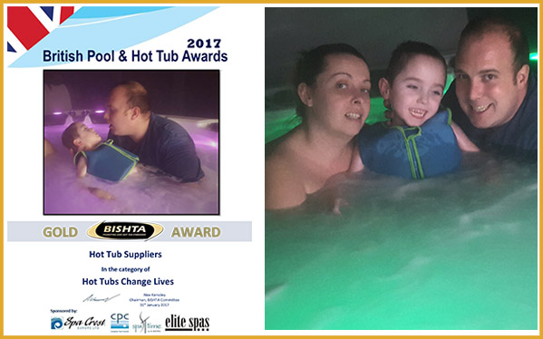 Hot Tubs Change Lives 2017