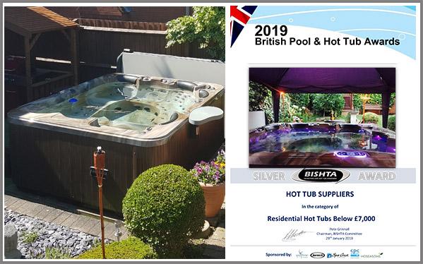 Hot Tub Award Winners| BISHTA | British Pool & Hot Tub Awards