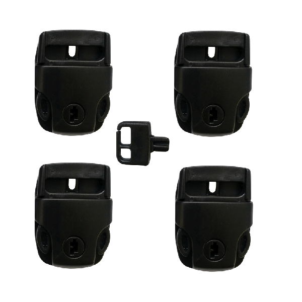 Set Of 4 Claude Spa Cover Lock