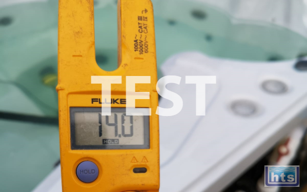 Major Components Electrically Tested